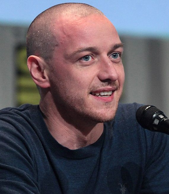 James McAvoy has based his latest character on Saoirse ...