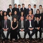 Members of the Lyit Badminton  Society pictured at the Lyit Student Achievements Awards night in the Radission Hotel Letterkenny on Thursday night .Included in the photo are Paul Hannigan President Lyit ,Billy Bennett VP for Academic Affairs and Registrar ,Henry McGarvey VP for Finance and Corporate Services , ,Josephine Wilson Lyit SU ,Vicki O Rourke Lyit SU ,Anne Marie Kelly.Photo by Gerard McHugh