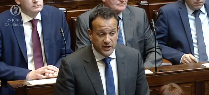 Taoiseach, Pays Tribute to Manus Kelly, Highland Radio, Letterkenny, Donegal