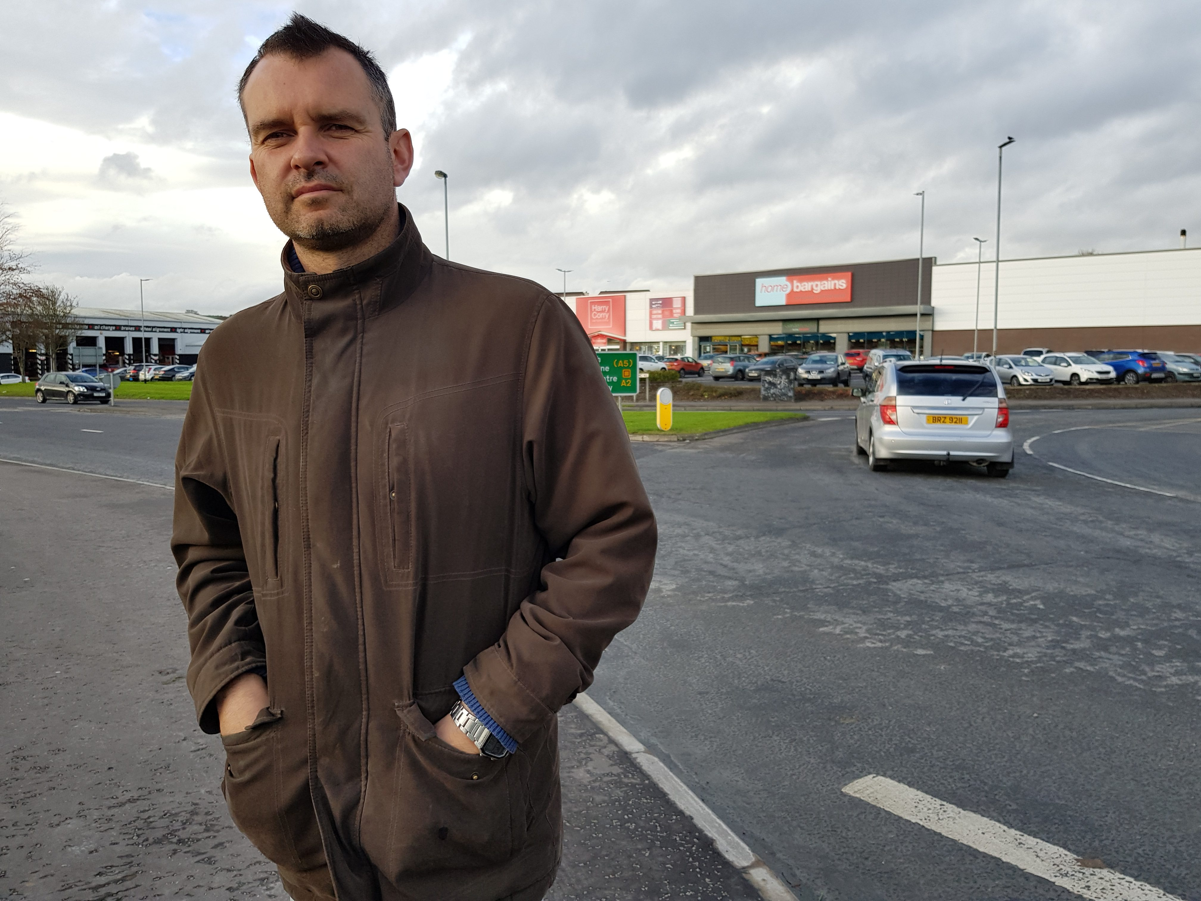 Efforts To Counteract Boy Racer Problem In Derry Car Park Highland