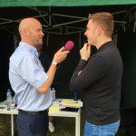 Greg Hughes, David James, Live, London, Highland Radio, Letterkenny, Donegal
