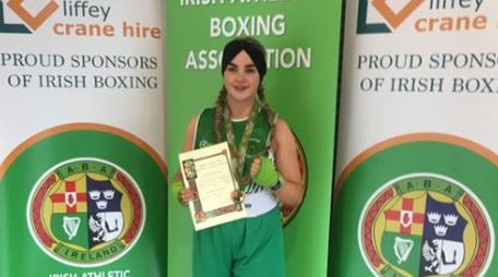 Leah Gallen, National Title No. 5, Highland Radio, Boxing Association, Letterkenny, Sport, Donegal