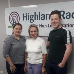 Majella and Cathal, Mayoral Candidates, Highland Radio, Letterkenny, Donegal