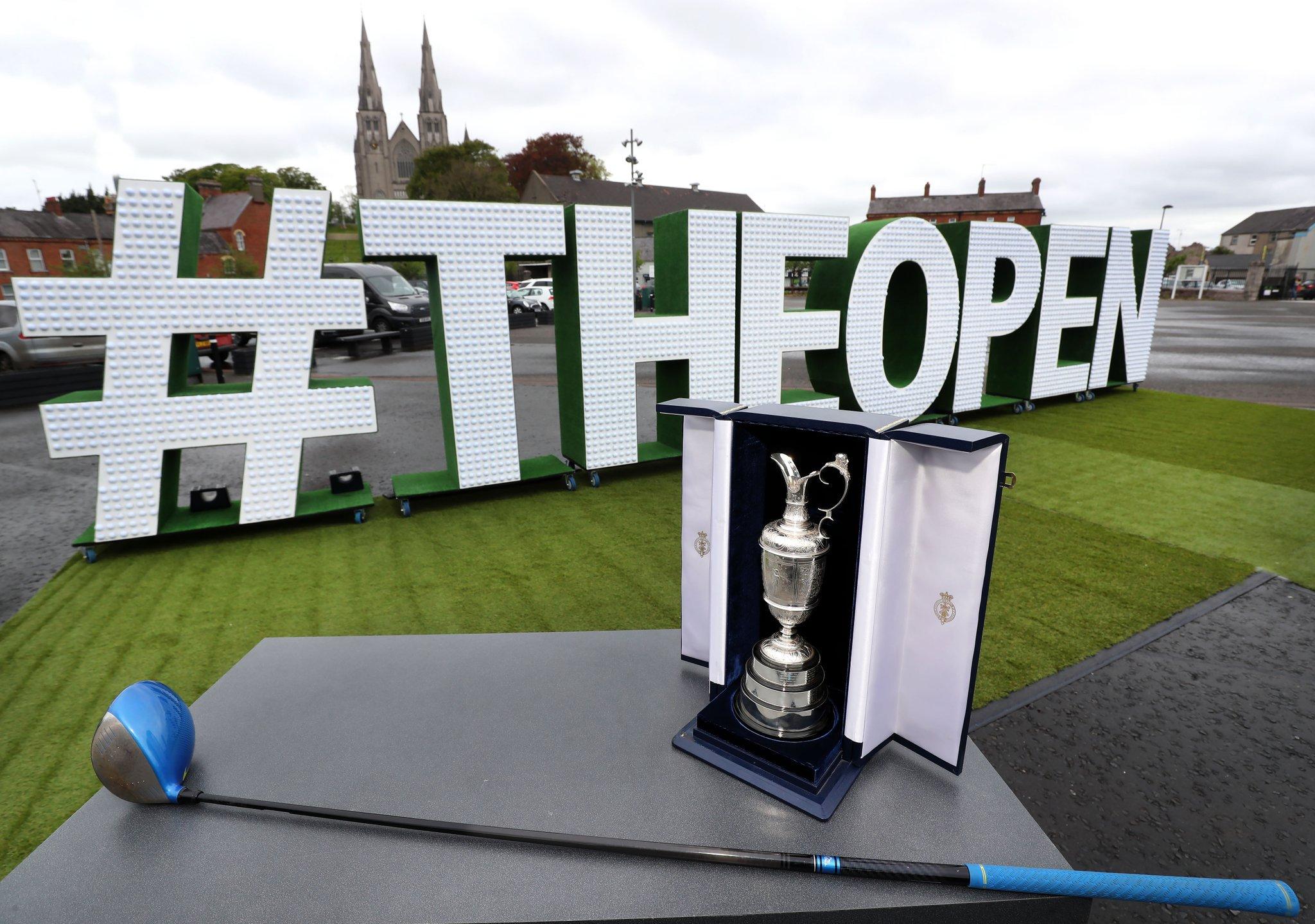 The Open, Portrush, 2019, Highland Radio, Letterkenny, Donegal