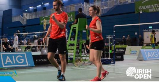 Donegal pair defeated in Semi-Final of Irish Open Badminton Championship - Highland Radio