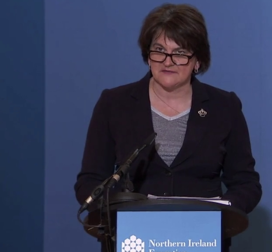 Foster confirms new restrictions to come into force next week